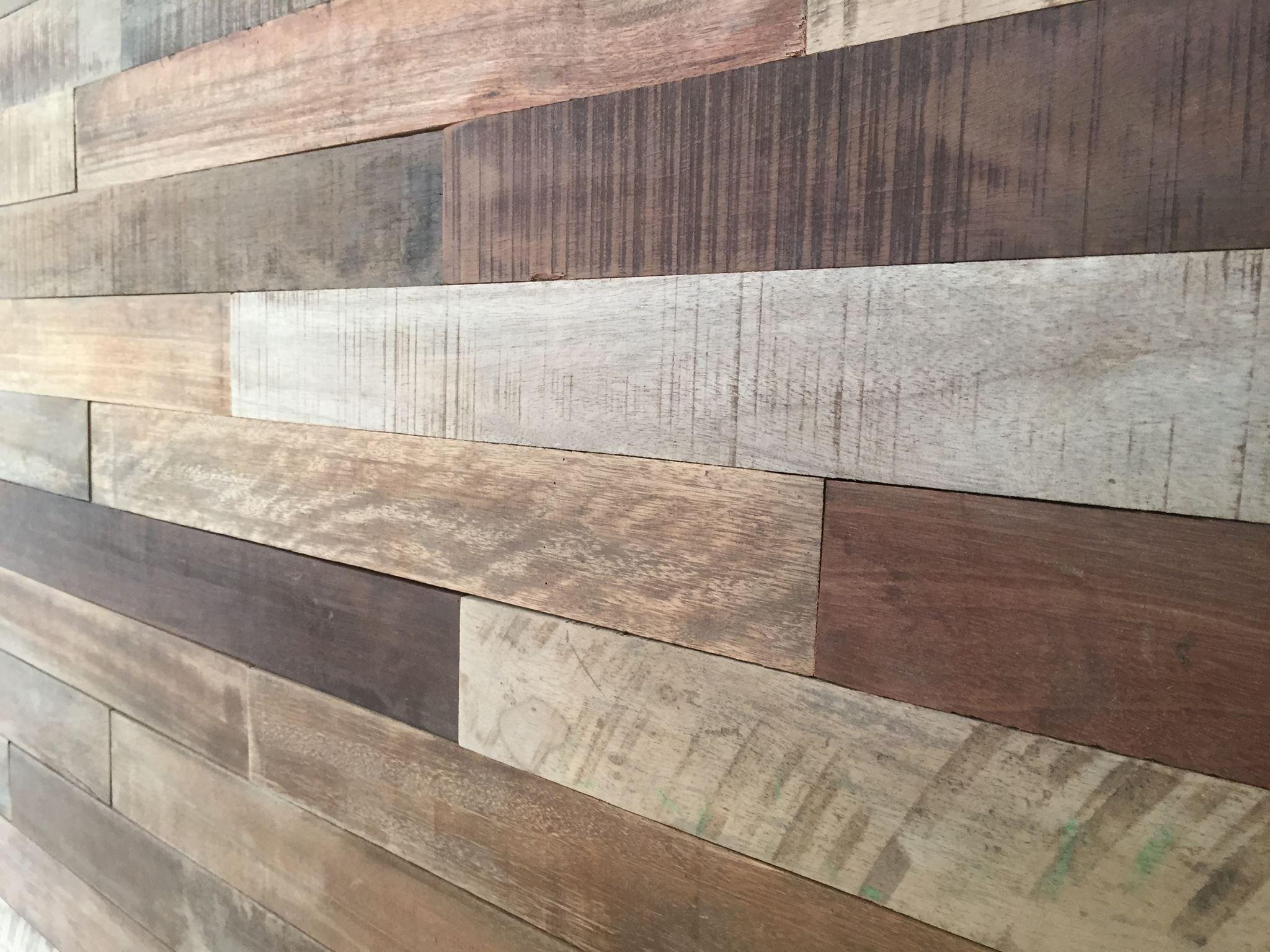 Holz Wand rustikal