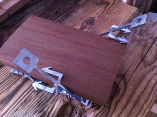 Holzterrassen Verlegesystem Diele austauschen