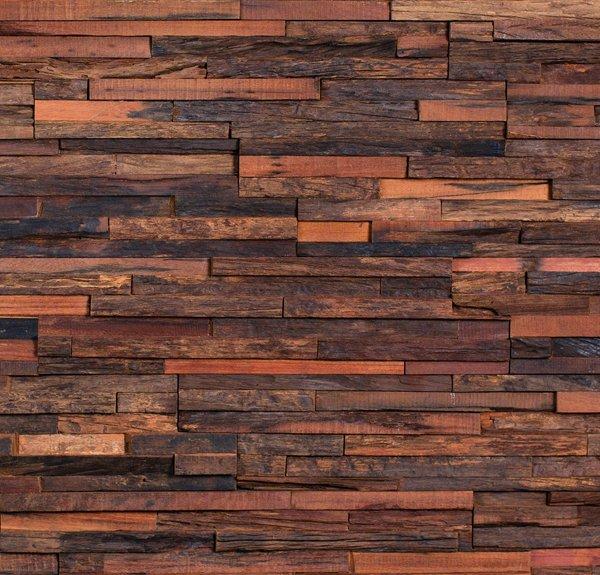 Wandverkleidung Holz Nussbaum ~ Verschiedene Holz Wandverkleidungen in natura im Überblick (Varianten