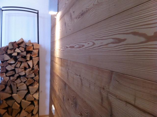 Holzwand Schlafzimmer