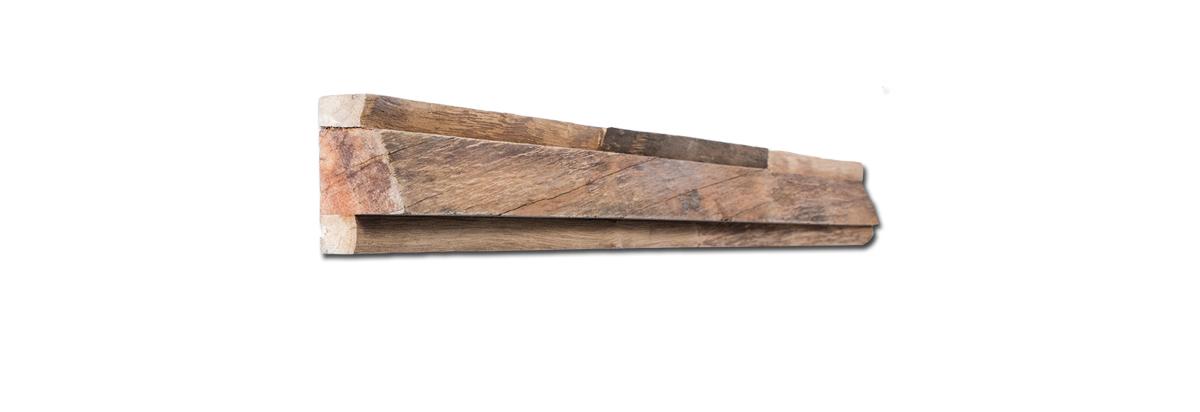 Waldkante Holz Wand Verkleidung