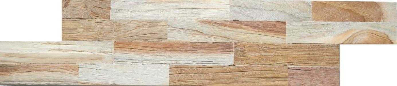 Wandverkleidung Holz hell