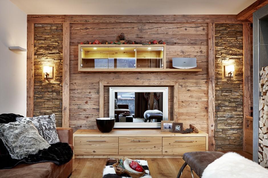 Wand mit altholz verkleiden