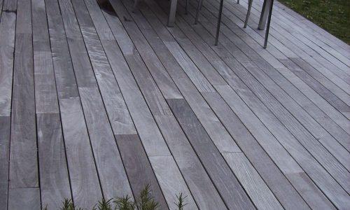 Ipe Holzterassen vergraut