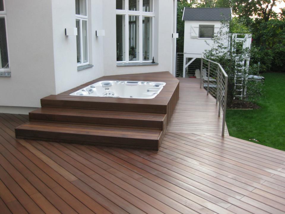 poolumrandung holz bs holzdesign. Black Bedroom Furniture Sets. Home Design Ideas