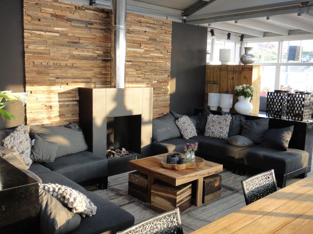 Steinwand wohnzimmer kamin: steinwand wohnzimmer design deko haus ...