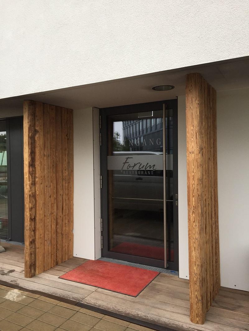 Altholz Balken Eingang