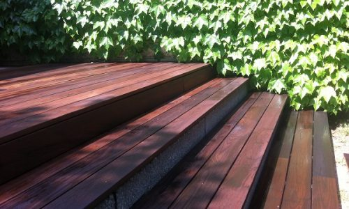 Holzterrasse