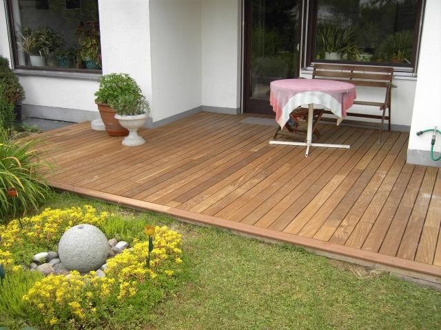 Häufig Ipe Holzterrasse ohne Schrauben   BS-Holzdesign OR16