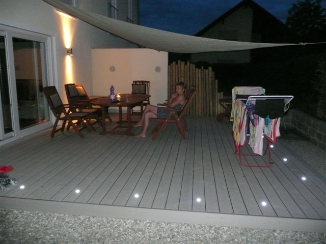 my deck timbertech terrassen beleuchtet bs holzdesign. Black Bedroom Furniture Sets. Home Design Ideas