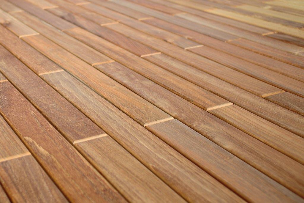 Teak Holzterrassen Fertigelemente selber montieren Bausatz