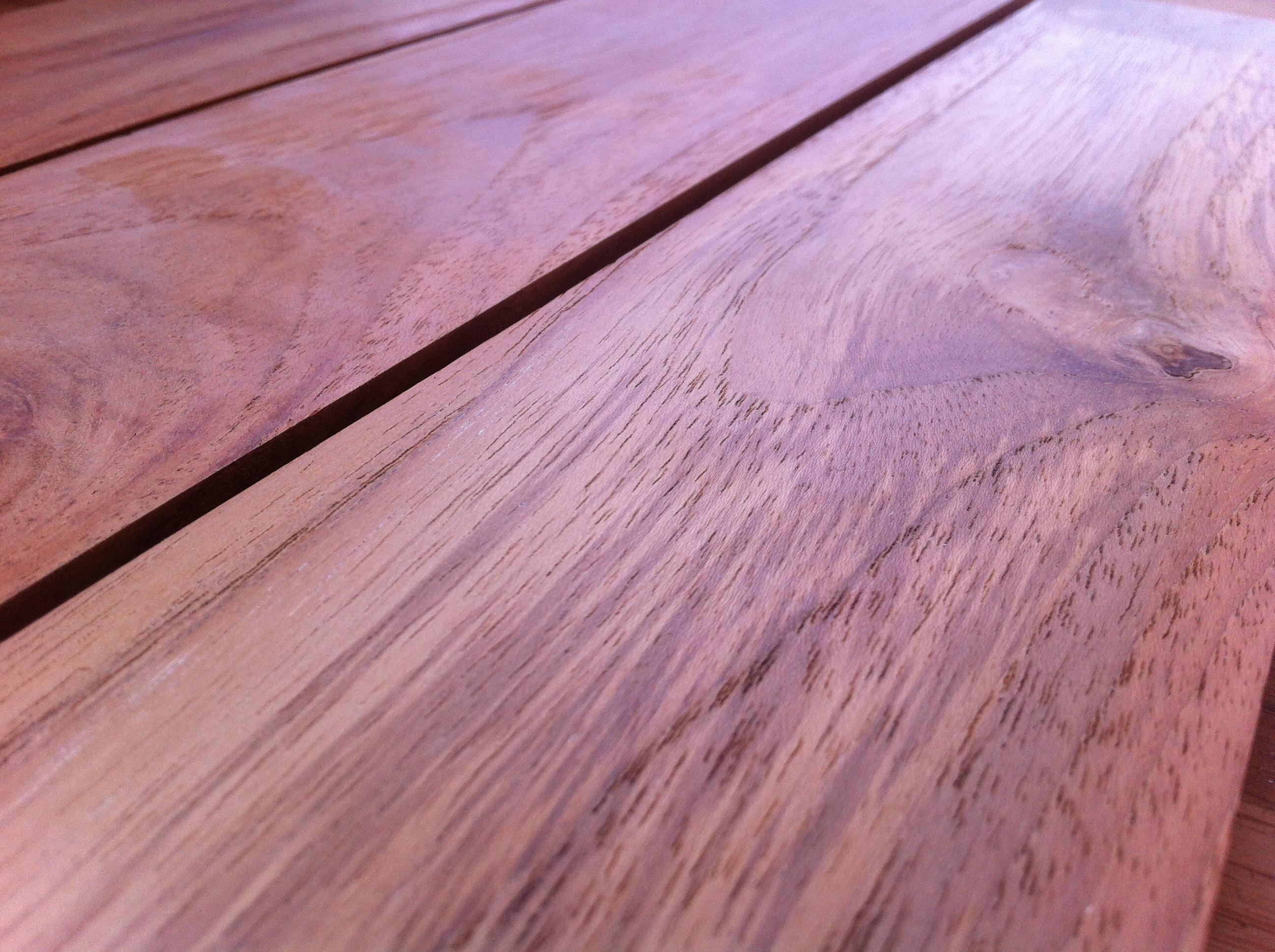 Teak Holzterrassen selekt Sortierung