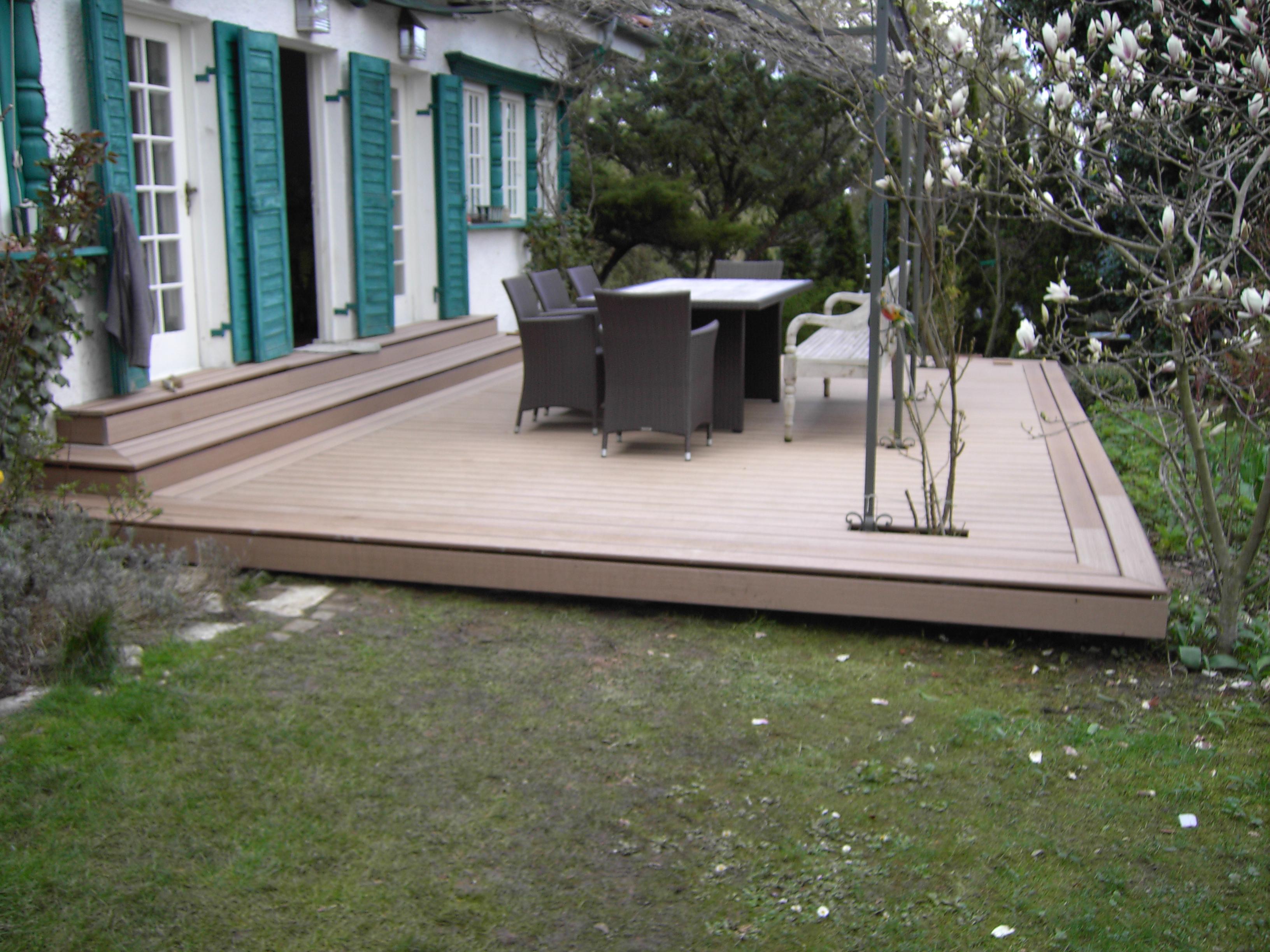 Wpc Terrasse Inspiration Design Familie Traumhaus