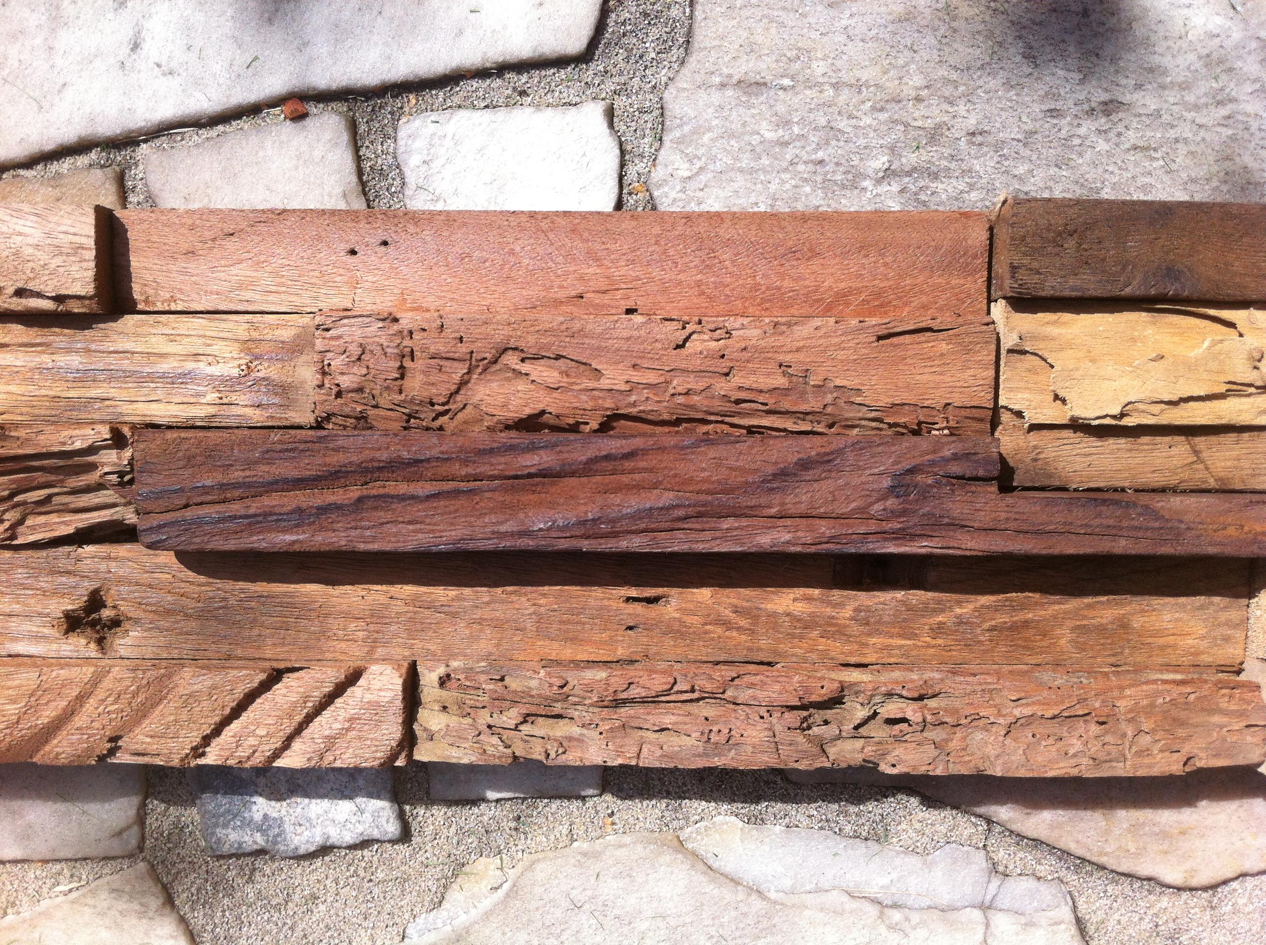 Wandverkleidung Holz W
