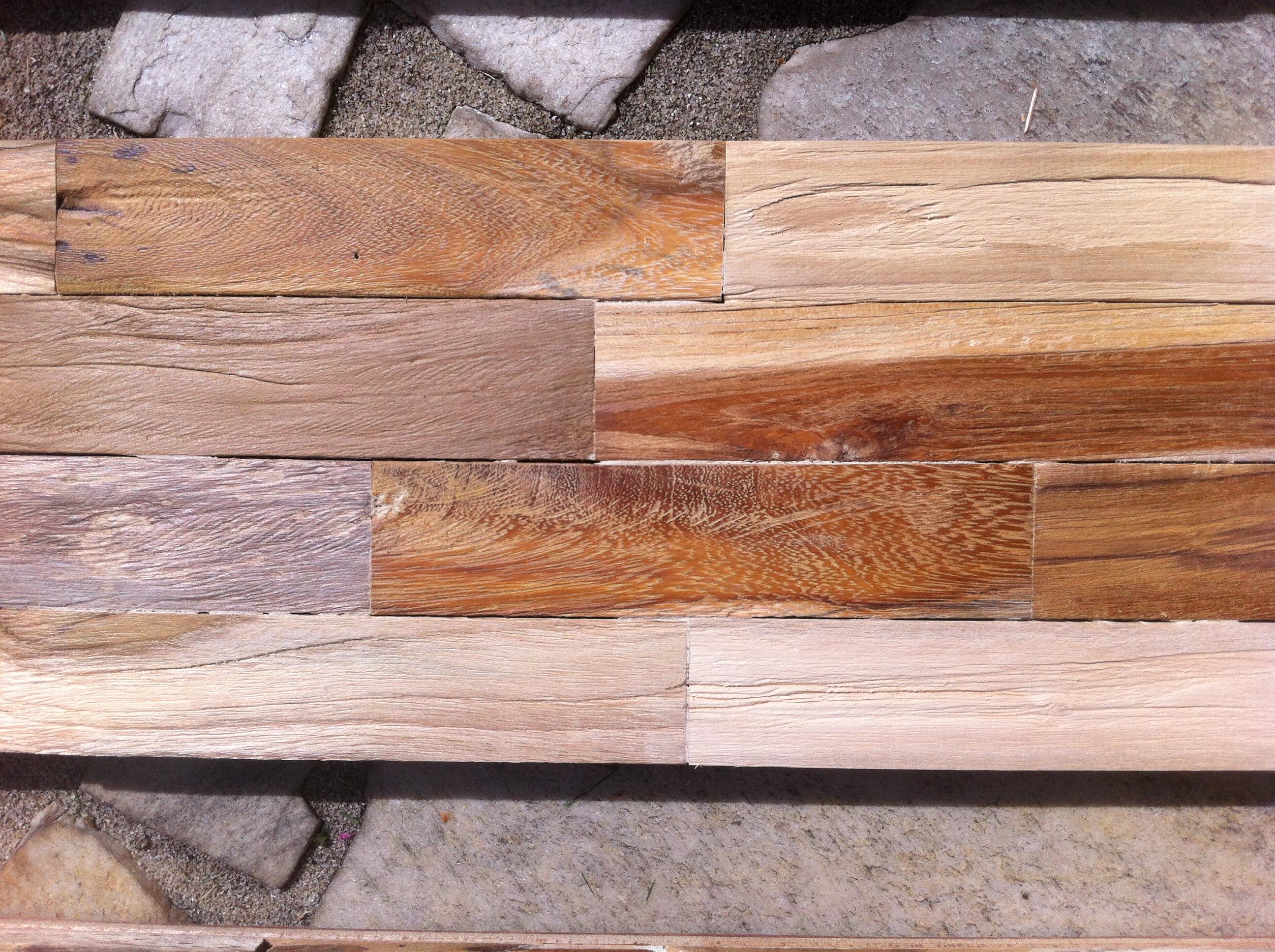 Wandverkleidung Holz fl
