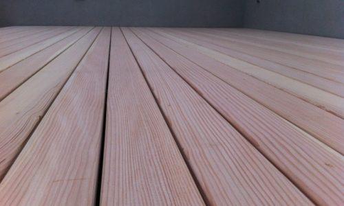 Douglasie Holz Terrasse