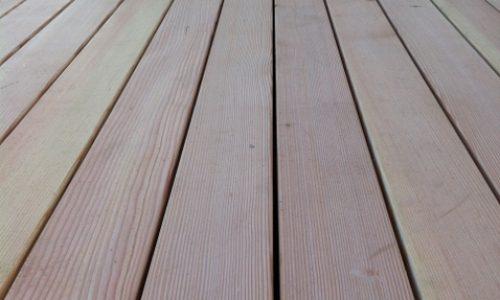 Douglasie Holzterrassen 5m lange Dielen