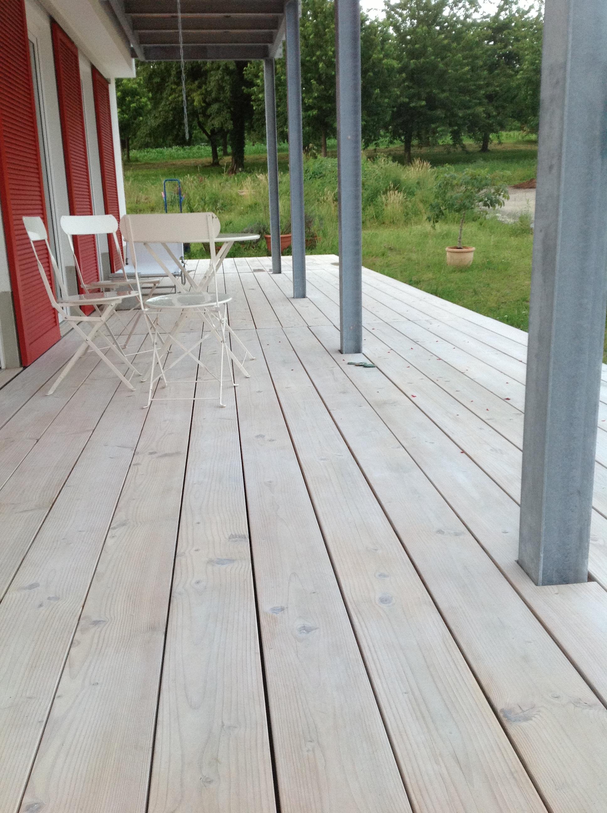 Douglasie Holzterrassen 6m lang  BS-Holzdesign
