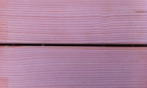 Douglasie Holzterrasse frisch verlegt