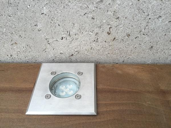 Beleuchtung Holz Terrasse