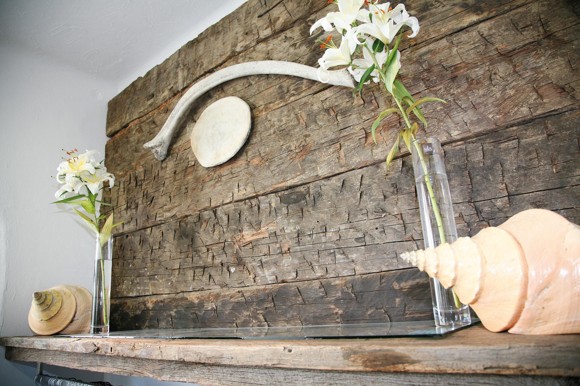 Eiche Wandverkleidung rustikal  BS-Holzdesign