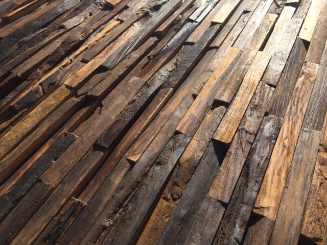 Recycled Holz
