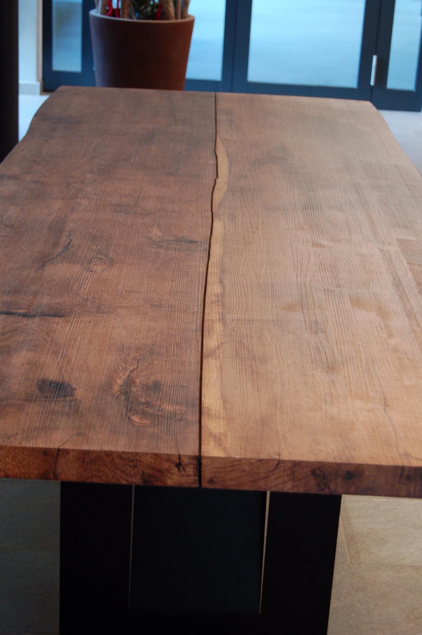 Tisch Eiche Hell Tisch Altholz Eiche
