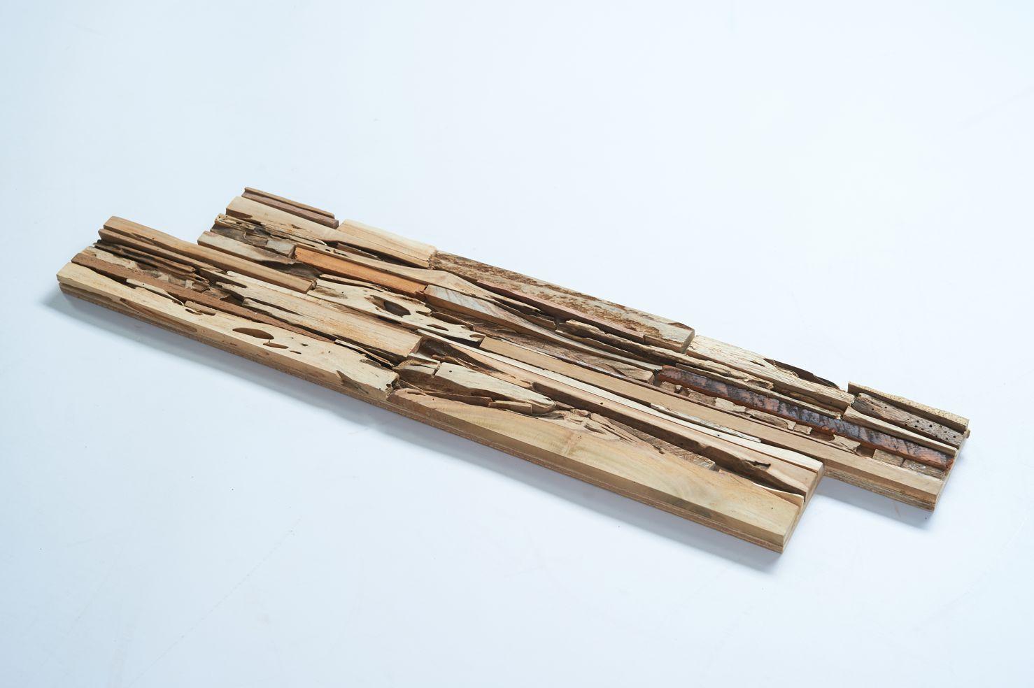 Wandverkleidung Holz Schwemmholz