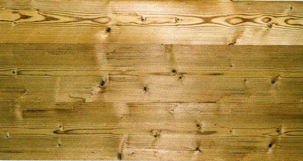 Holz Wandverkleidung Thermofichte gehackt gebuerstet