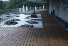 Kebony Holzterrassen verdeckt montiert Dachgarten Dachterrassen