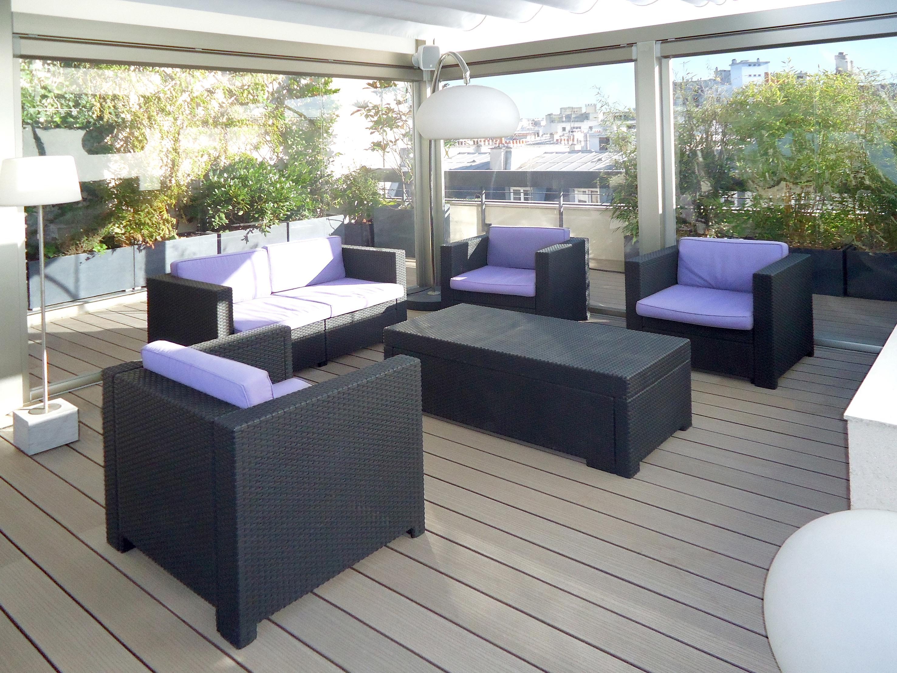 WPC Terrassen in verschiedenen Farben
