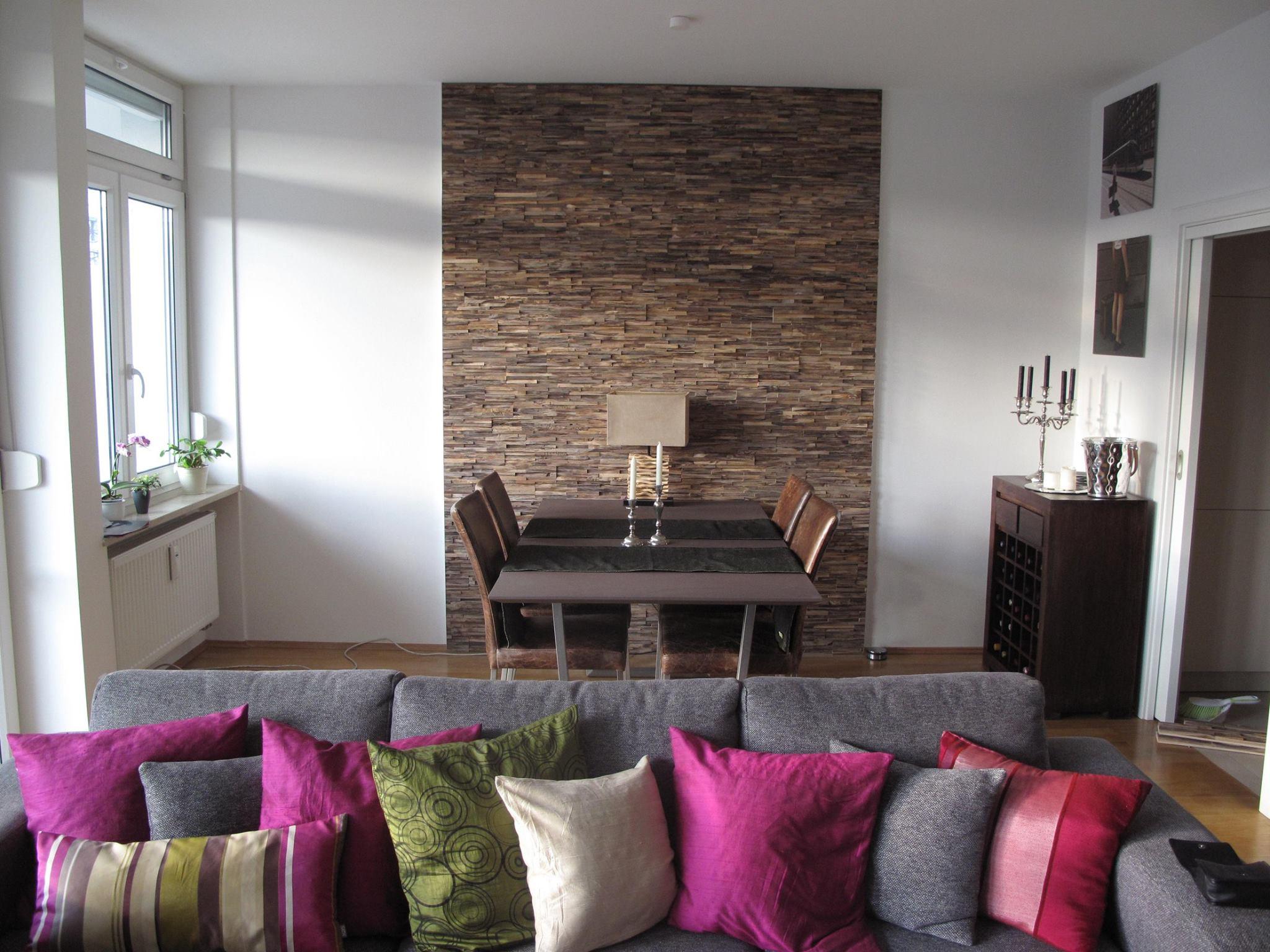 Wand Holz
