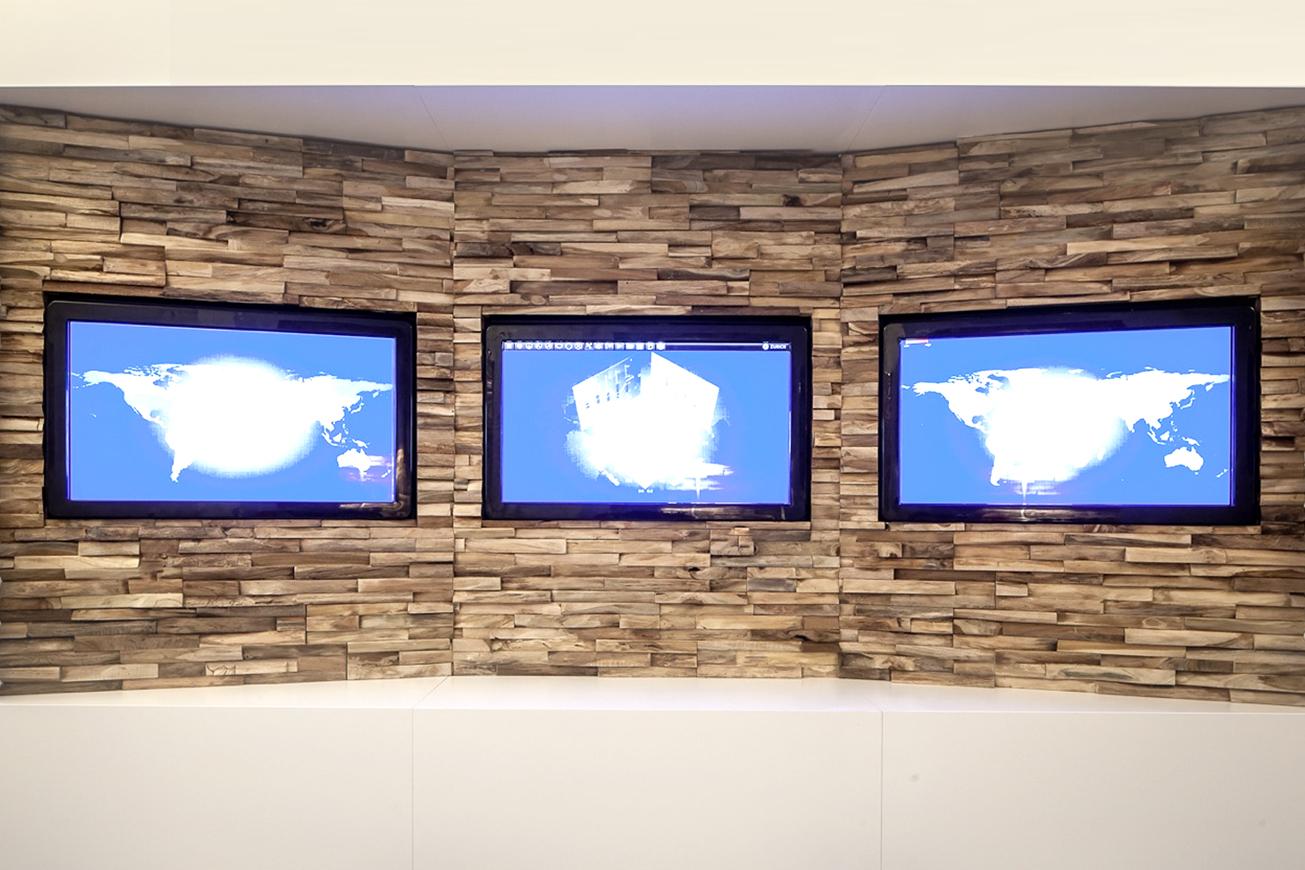 wandverkleidung holz tv wand - Tv Wandverkleidung