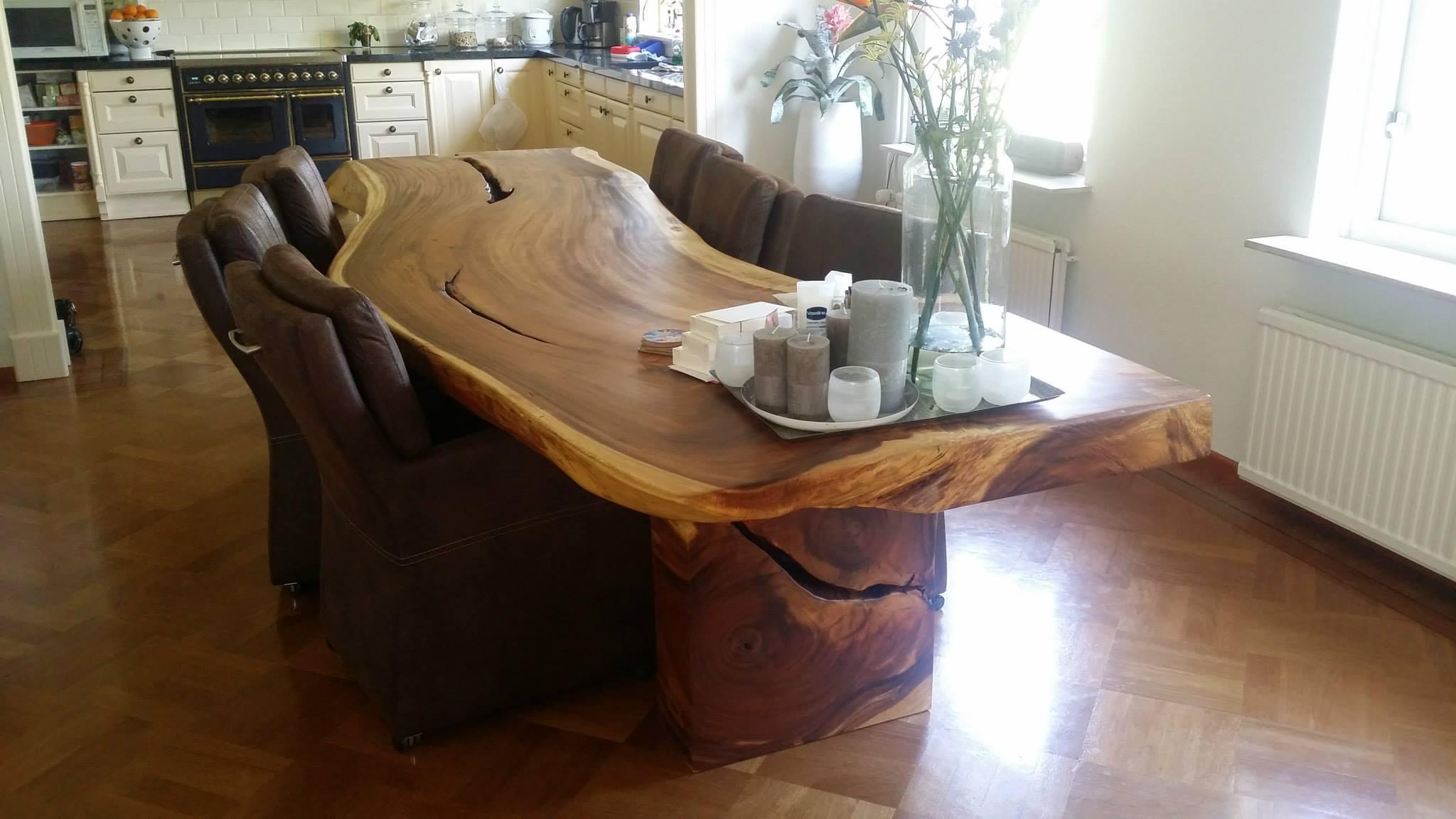 Massivholztisch nach ma bs holzdesign for Massivholztisch design