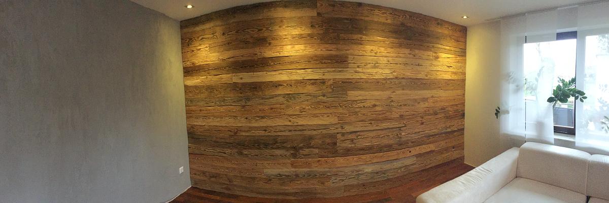Holz gehackt