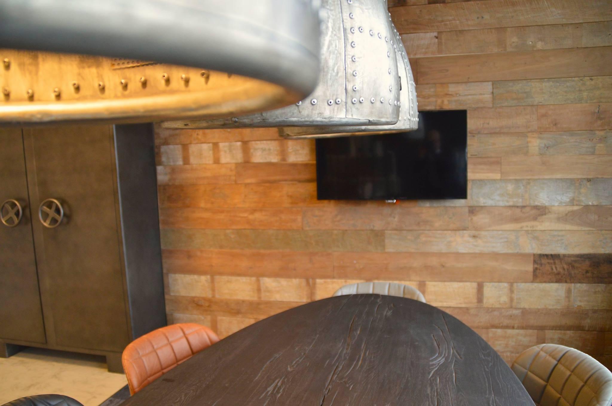 Holz Planken hell
