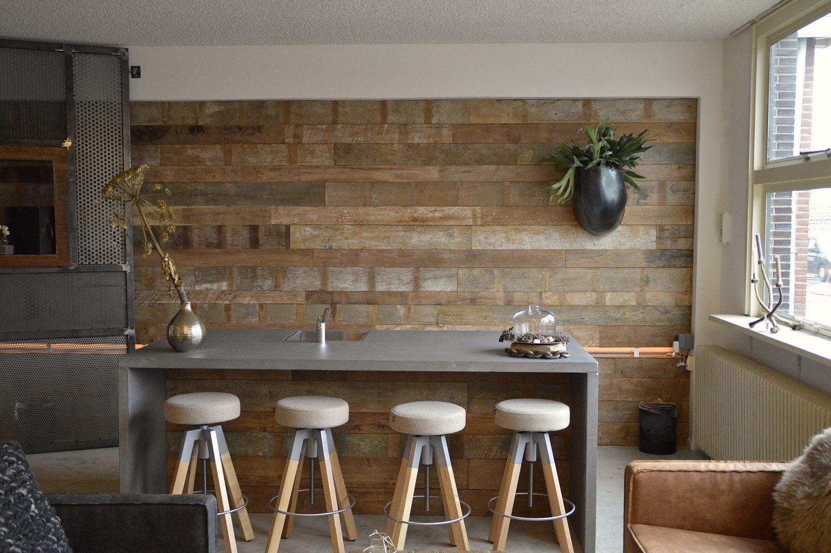 Wandverkleidungen Holz rustikal  BS-Holzdesign