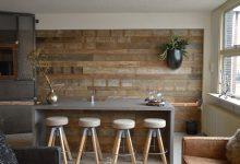 Holz Wand Mu