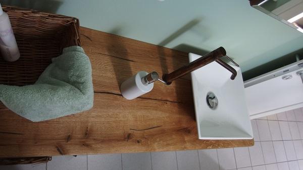 Altholz Tisch Platte nach Maß | BS-Holzdesign | {Waschtisch altholz 51}