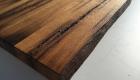 Altholz Tisch Natur Kante