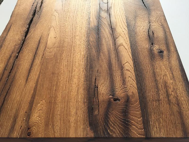 Tischplatte altholz  Altholz Tisch Platte nach Maß | BS-Holzdesign