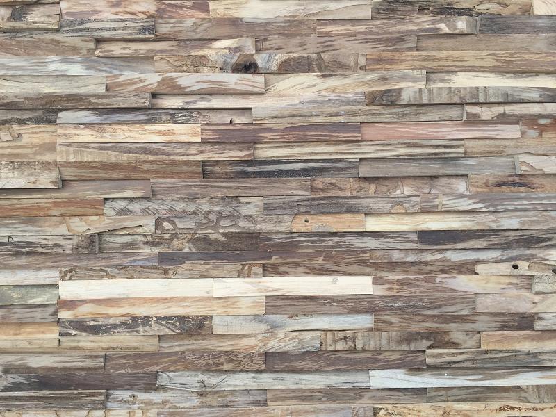 Holz Wandverkleidung modern braun grau | BS-Holzdesign
