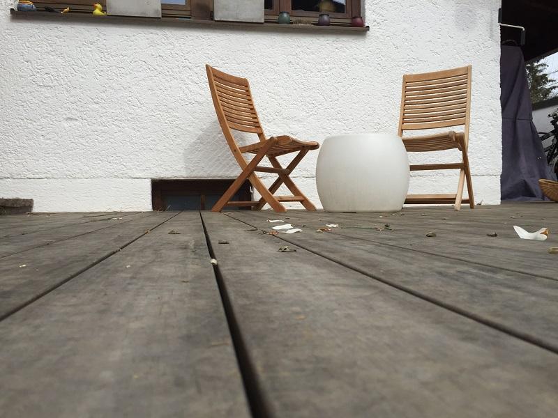 Holzterrasse Munchen Ausstellung Altholz Bretter