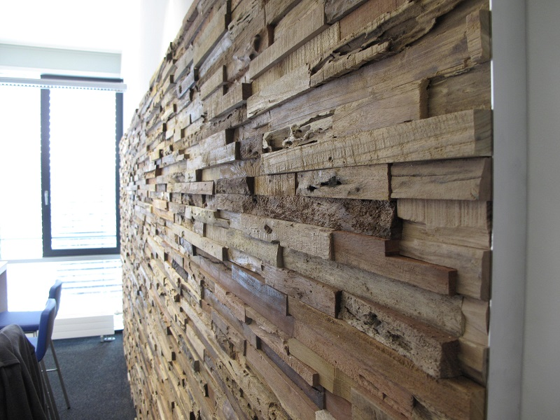 Altholz Wandverkleidung Rustikal Dunkel 3d Bs Holzdesign