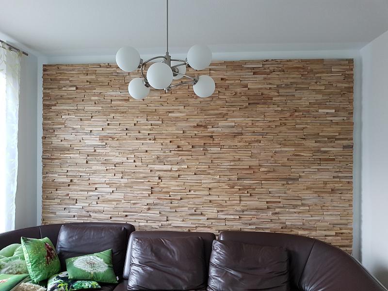 Wandverkleidung Holz Hell Schlicht Bs Holzdesign