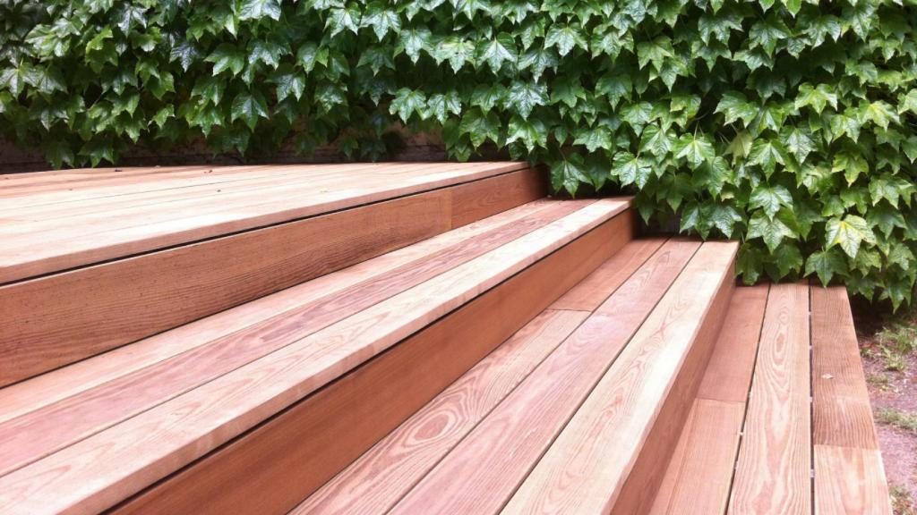 Relativ Thermoesche ohne Schrauben verlegen Holzterrasse | BS-Holzdesign HS98