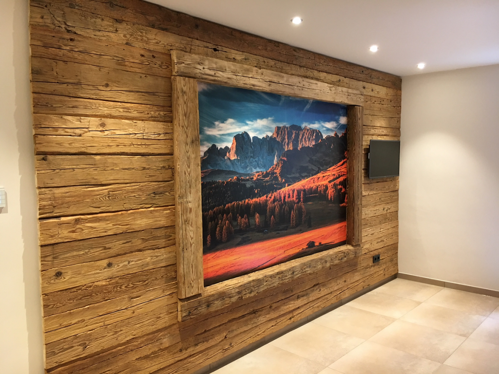 Wandpaneele Wohnzimmer Holz Caseconrad Com