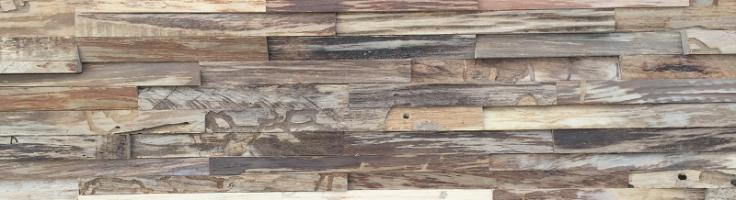 Teak Wandverkleidung modern | BS-Holzdesign