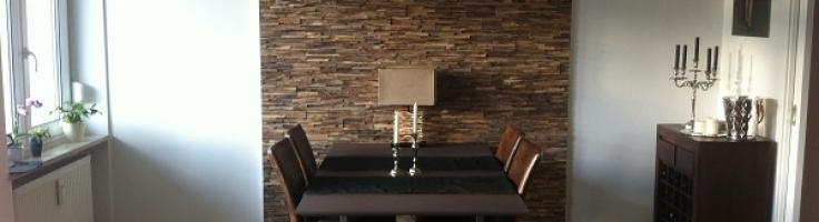 Wandverkleidung Holz Teak modern   BS-Holzdesign