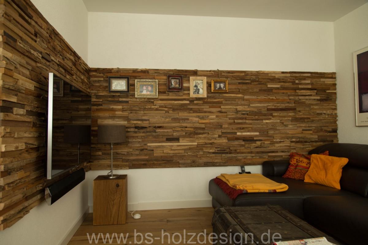 Holz wandverkleidung rustikal bs holzdesign - Holzwand rustikal ...